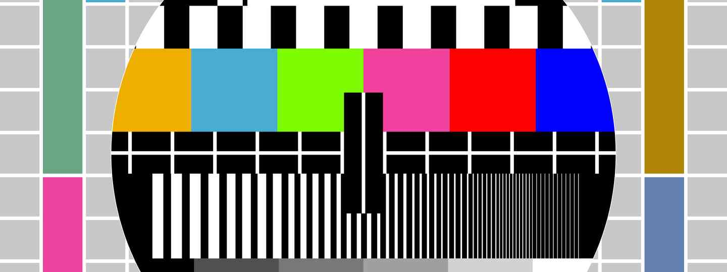 TV test signal (Shutterstock: see main credit below)