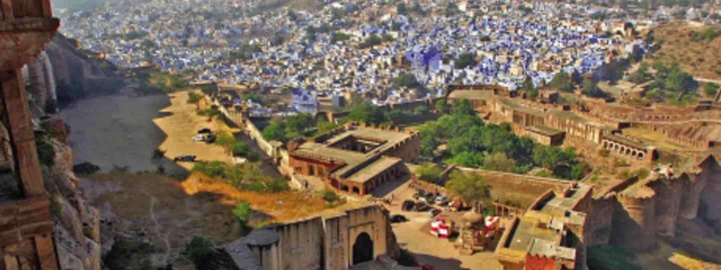 There's more to Jodhpur - the blue city - than the fort (dreamstime)
