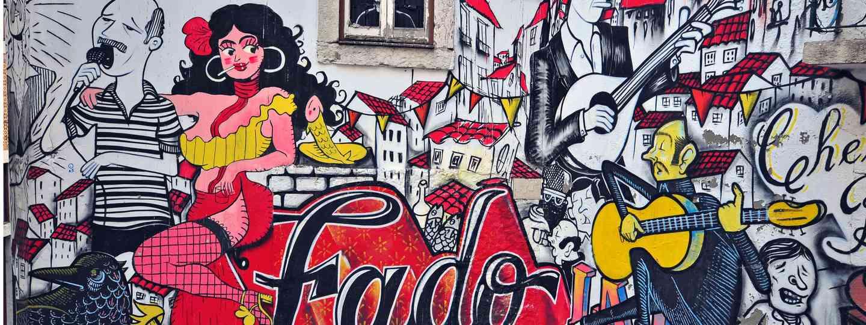 Fado graffiti, Lisbon (Shutterstock: see main credit below)