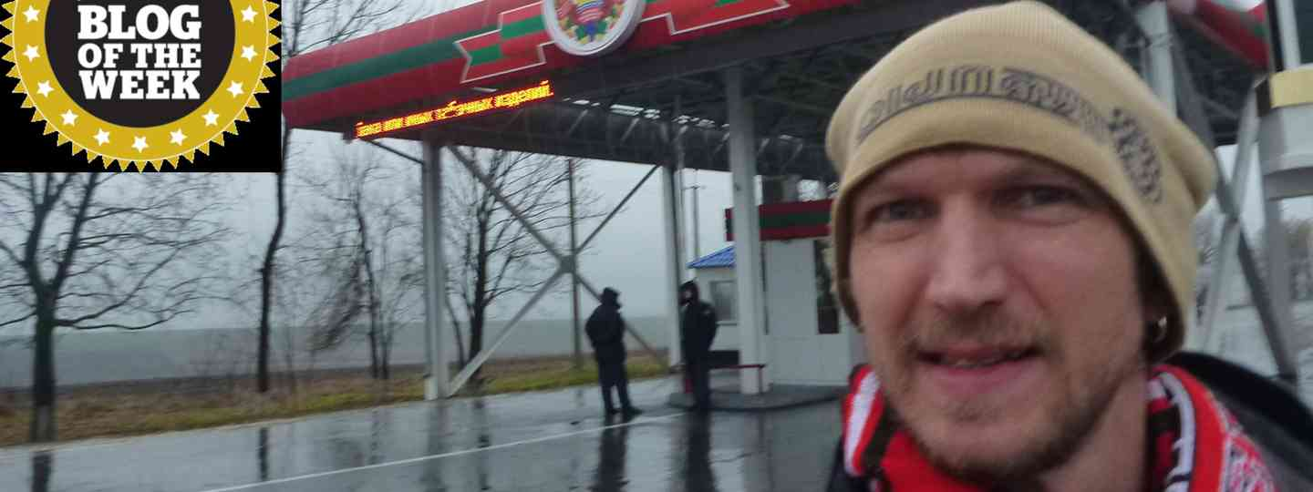 Jonny Blair arrives in Transnistria (Jonny Blair)
