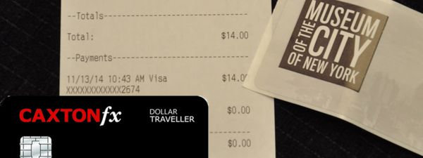 Trialling the Caxton FX currency card in New York   Wanderlust
