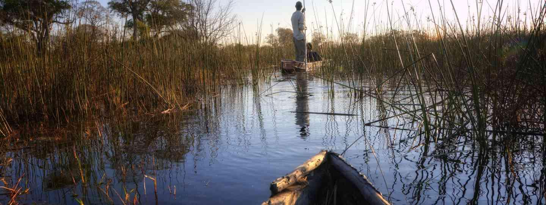 Canoeing in the Okavango Delta (Shutterstock.com. See main credit below)