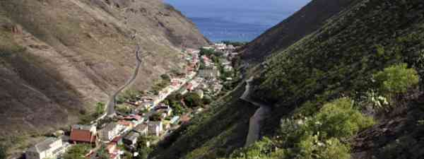St Helena's capital Jamestown is surrounded by hills (iStock)