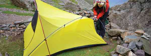 Preparing to bed down for a wild night of camping (Neil S Price)