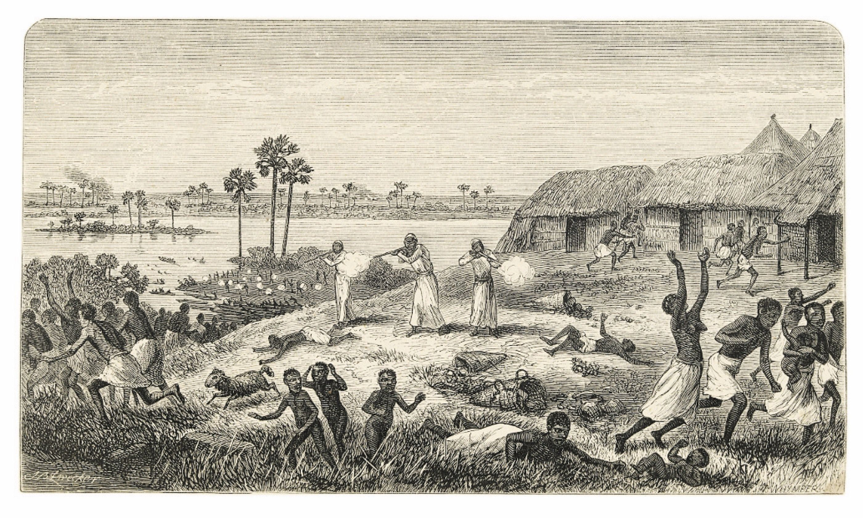 The drawing: Livingstone, D., The Last Journals of David Livingstone in Central Africa (London: John Murray, 1874)