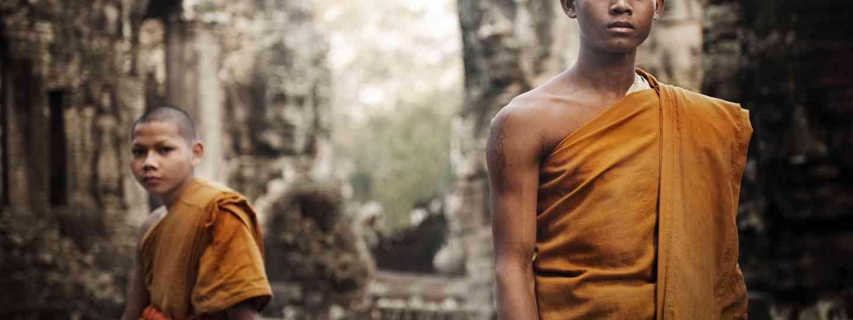 Monks at Angkor Wat (Shutterstock.com. See main credit below)