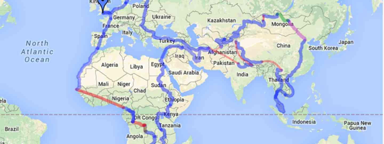 Charlie's Journey (CharlieWalkerExplores.com)