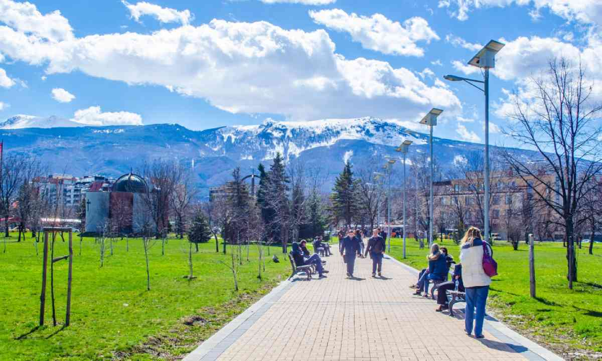 View of Mount Vitosha from Sofia (Shutterstock)