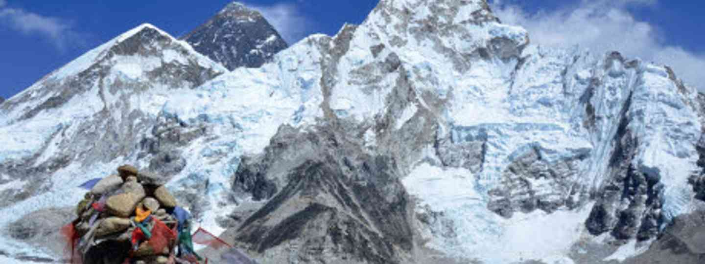 The best view of Everest? A sight available to walkers from Kala Pattar (Neil S Price)