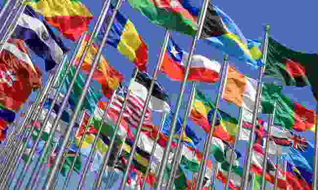 Flags of the world (Shutterstock)