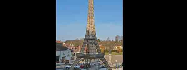 Wicker tower in Bussières-lès-Belmont, France