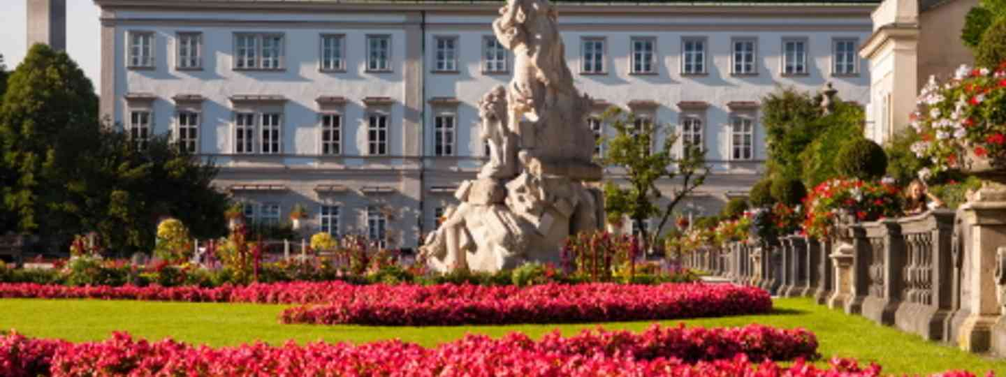 The Mirabell Gardens in Salzburg (Image: dreamstime)