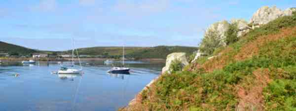 Escape to the Scilly Islands this autumn (Image: dreamstime)