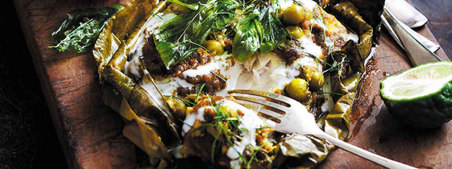Grilled kingfish in green curry (Image: Jeremy Simons)