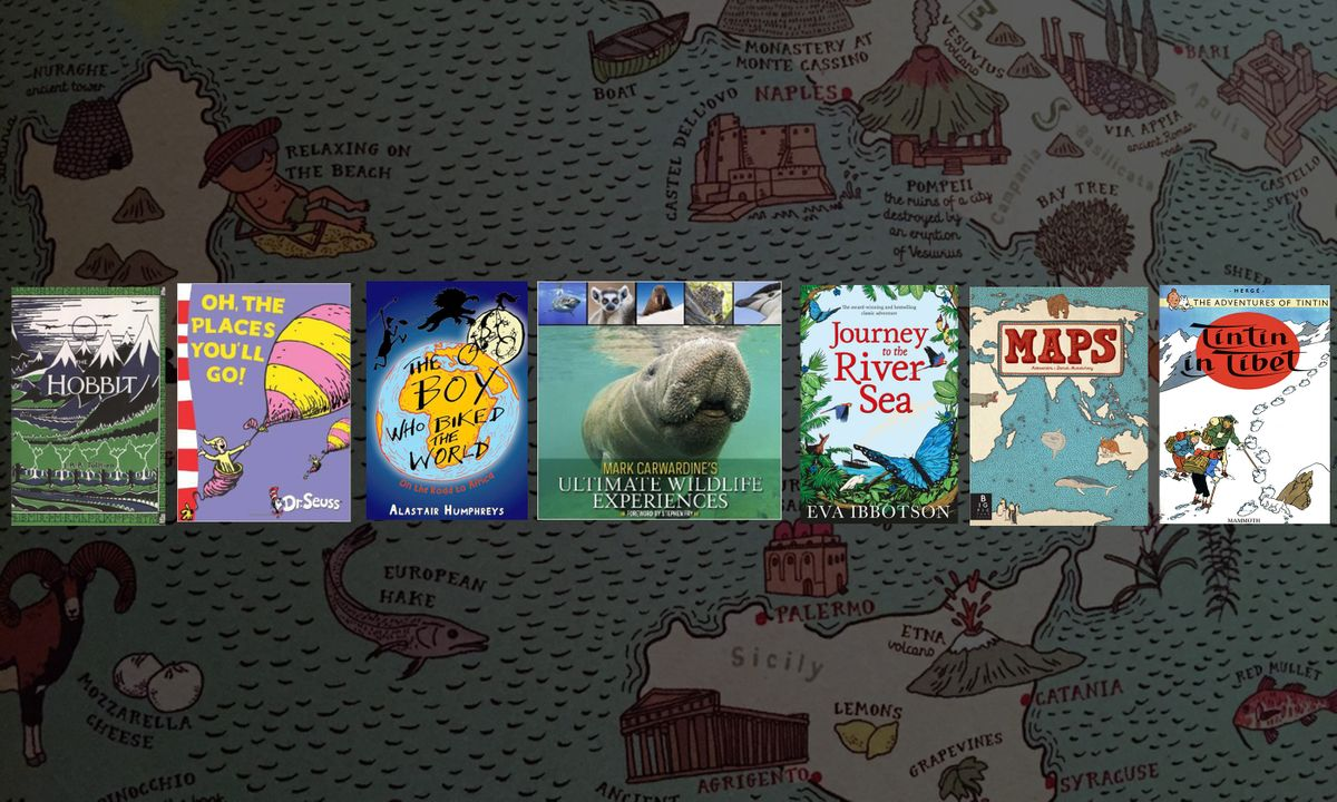 7 books guaranteed to give your children wanderlust