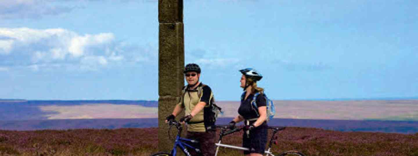 Cyclists summit Danby Moor for sweeping views (Yorkshire Tourist Board)