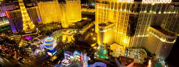Las Vegas is an overload of light, noise and kitsch (shutterstock)