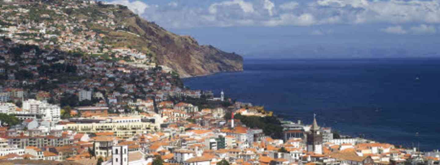 Looking down on Funchal, Madeira's hill-tumbling capital (iStock)