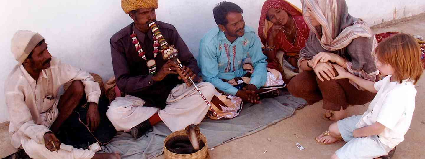 Snake Charmers in India (Melanie Gow)