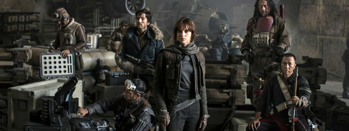 Cast of Rogue One (Jonathan Olley / Lucasfilm)