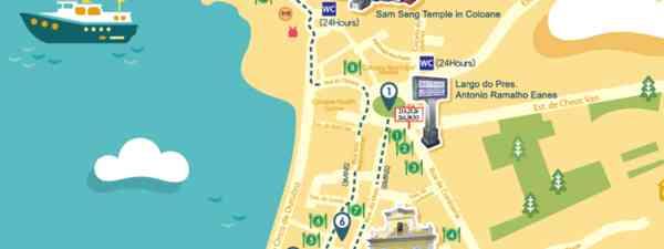 Macau walking tour (Macau Tourism)
