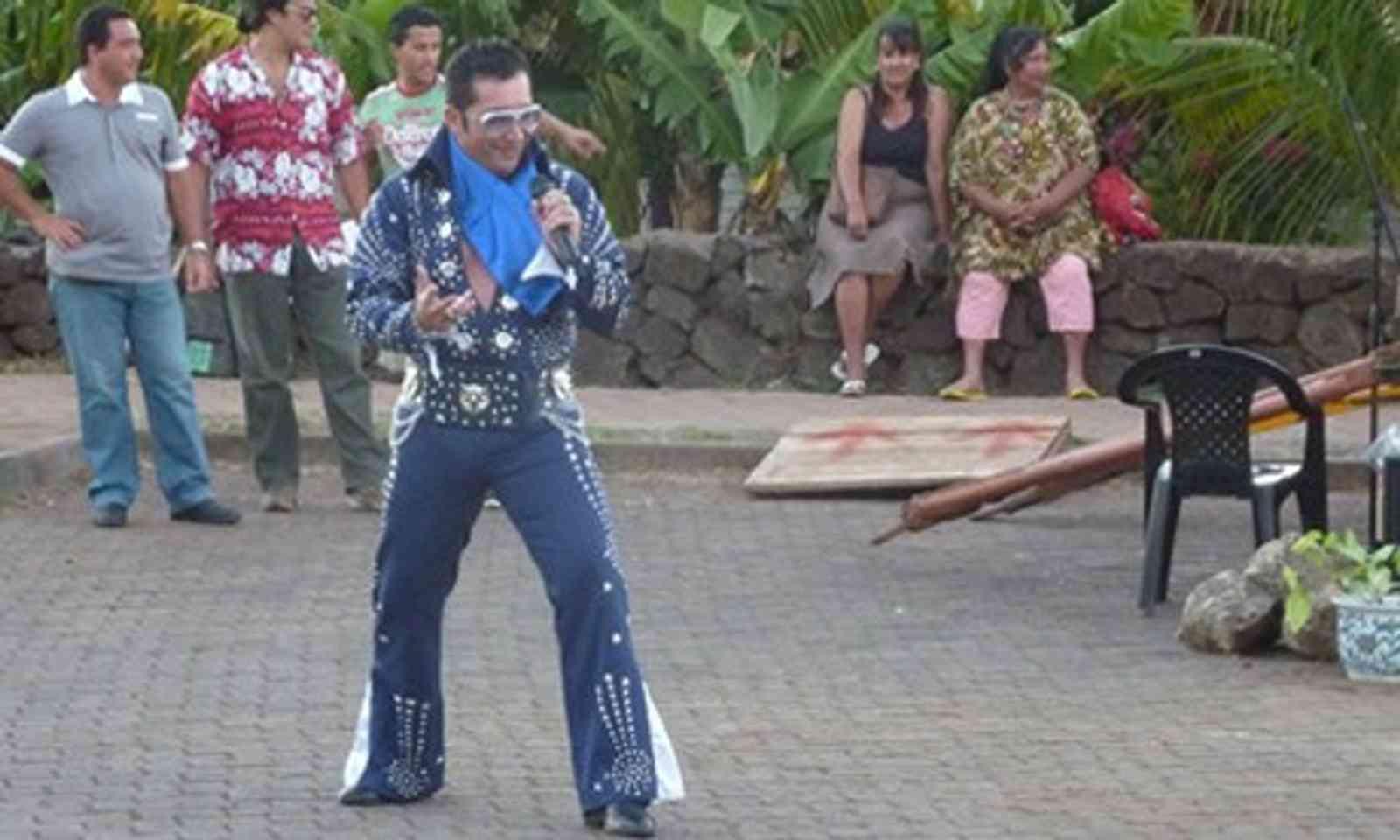 Elvis of Easter Island