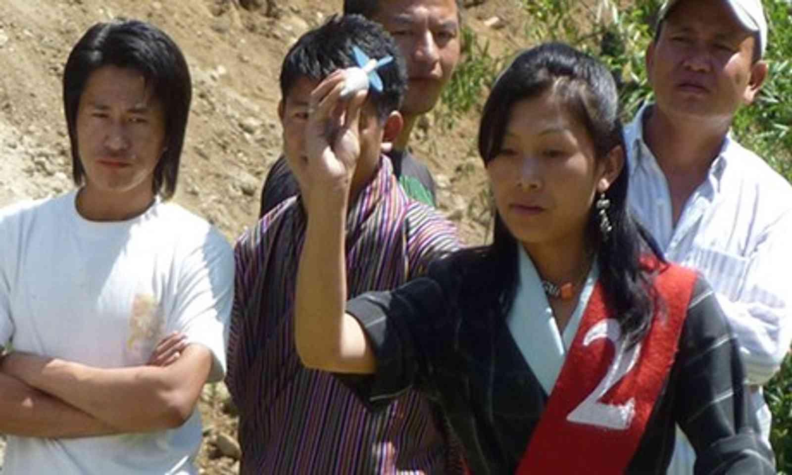Bhutan darts team