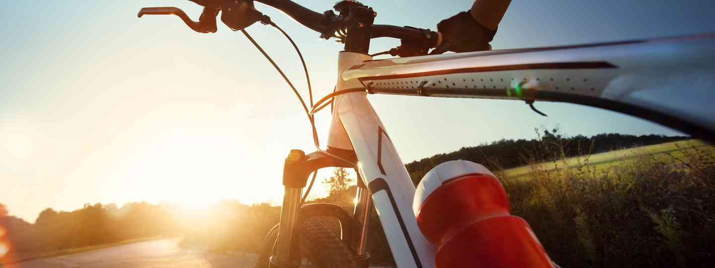 Cycling at sunrise (Shutterstock: see credit below)