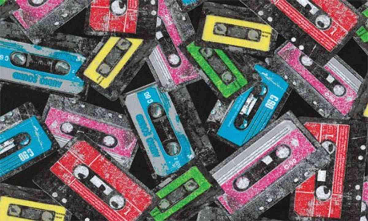 Tapes. Lots of them.