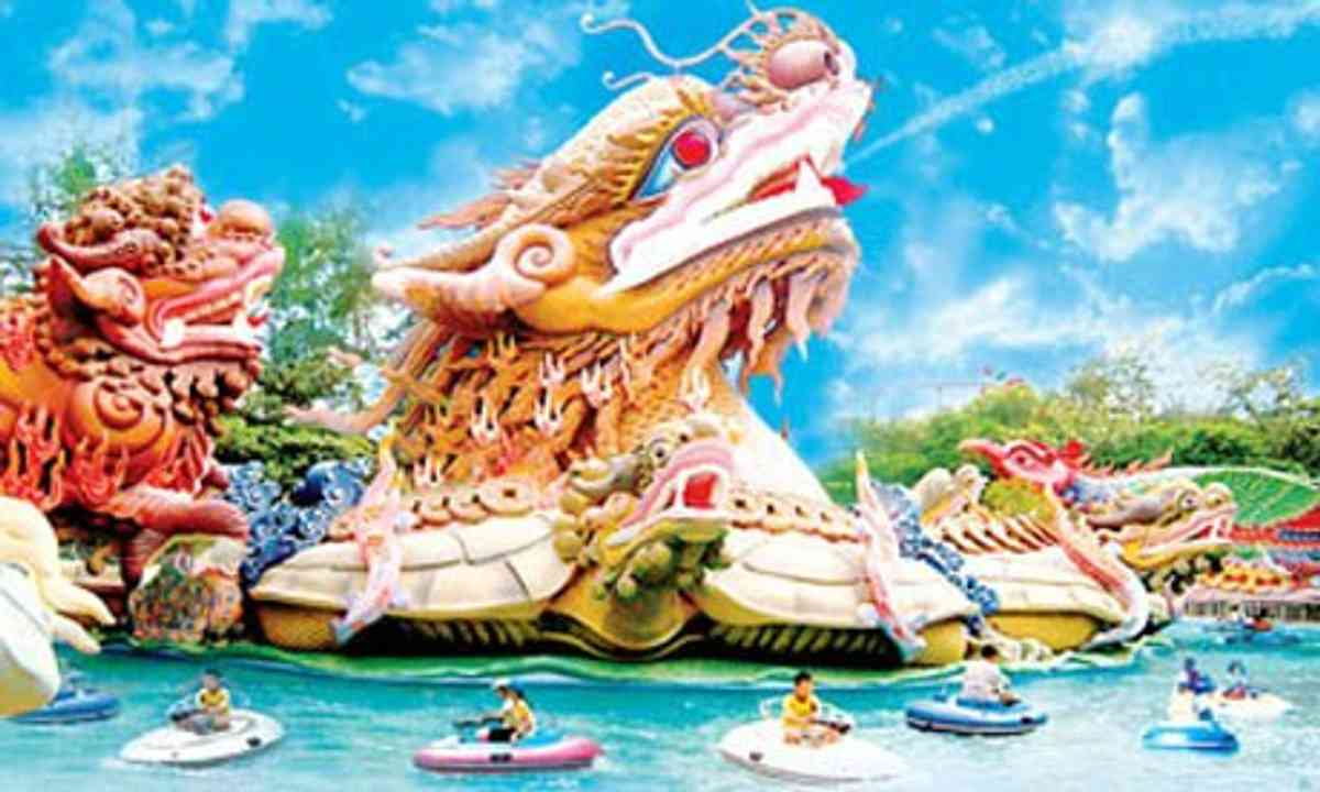 Crazy theme parks