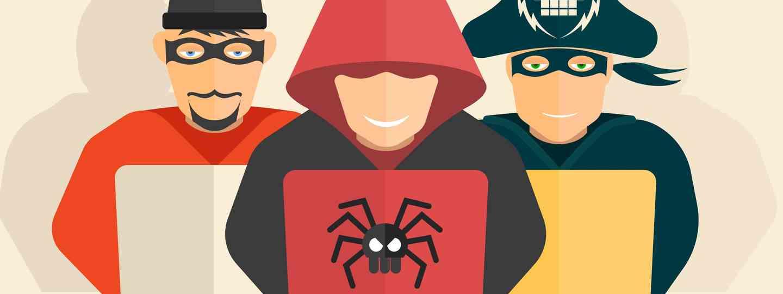 Online fraudsters (Shutterstock: see credit below)