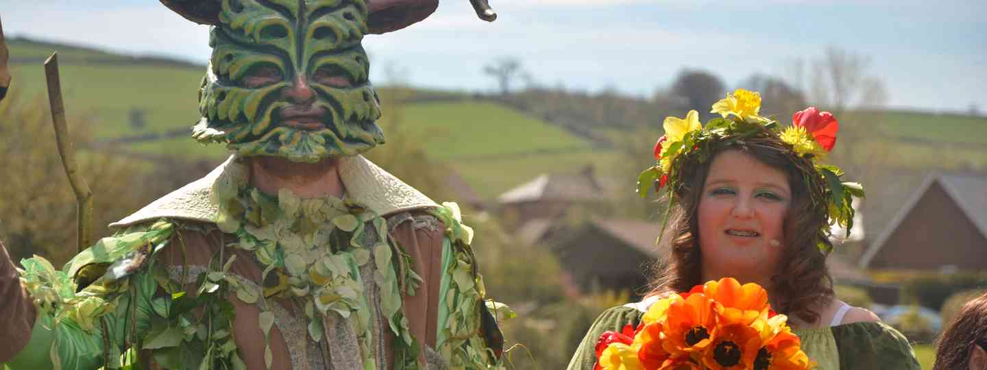 Green Man and May Queen (Shutterstock: see credit below)