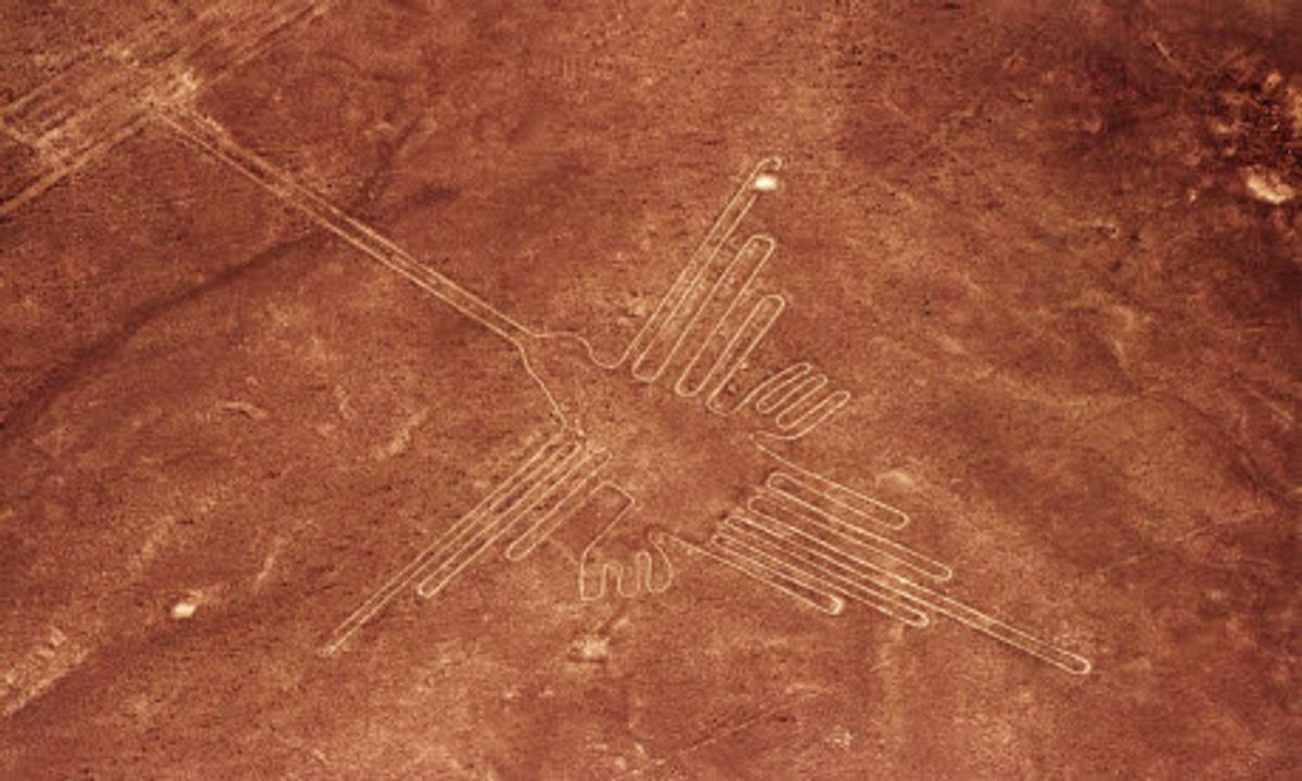 Nazca Lines: The aliens have landed