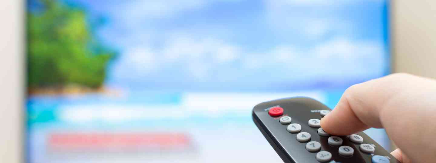 TV and remote (Shutterstock: see main credit below)