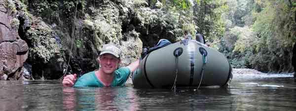 Packrafting in Liberia (Will Millard)