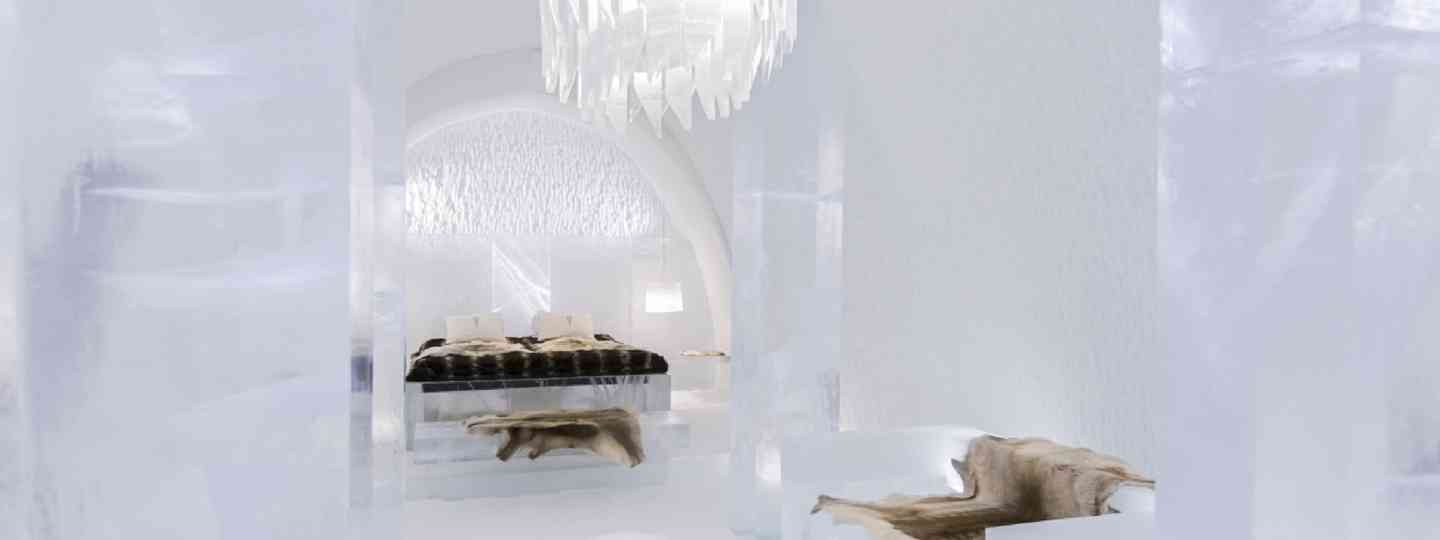 Ice Hotel, Sweden – where they built an extra room for Nick, of course... (Photo: supplied)