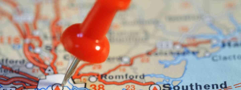 Pin marking London (Shutterstock: See main credit below)