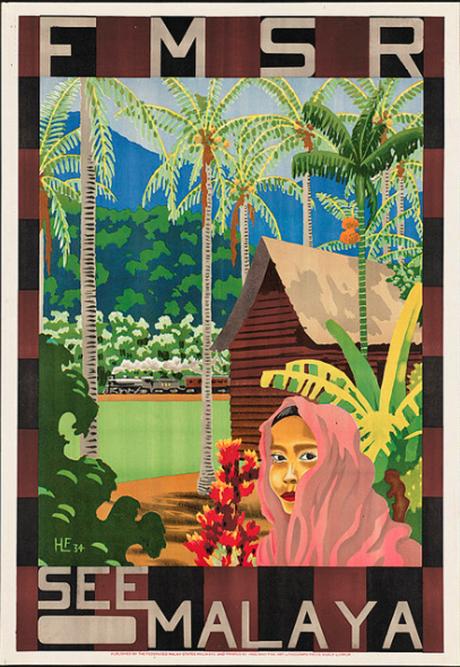 Malaya poster (Boston Library collection)