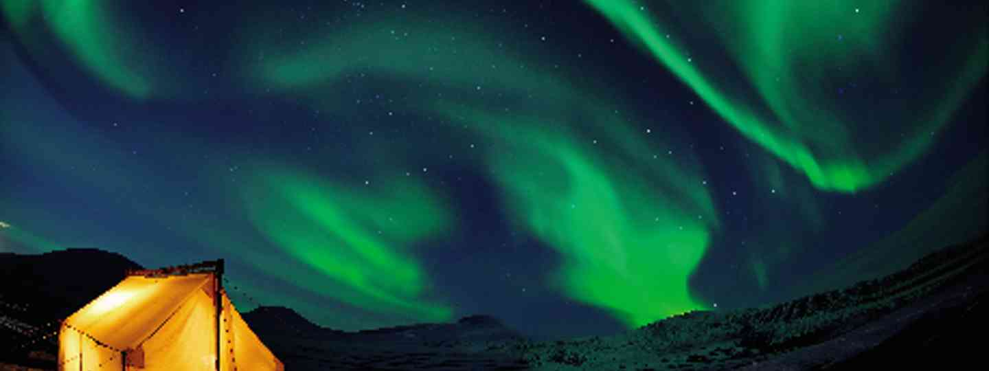 Hunting the aurora in Arctic Norway (dreamstime)