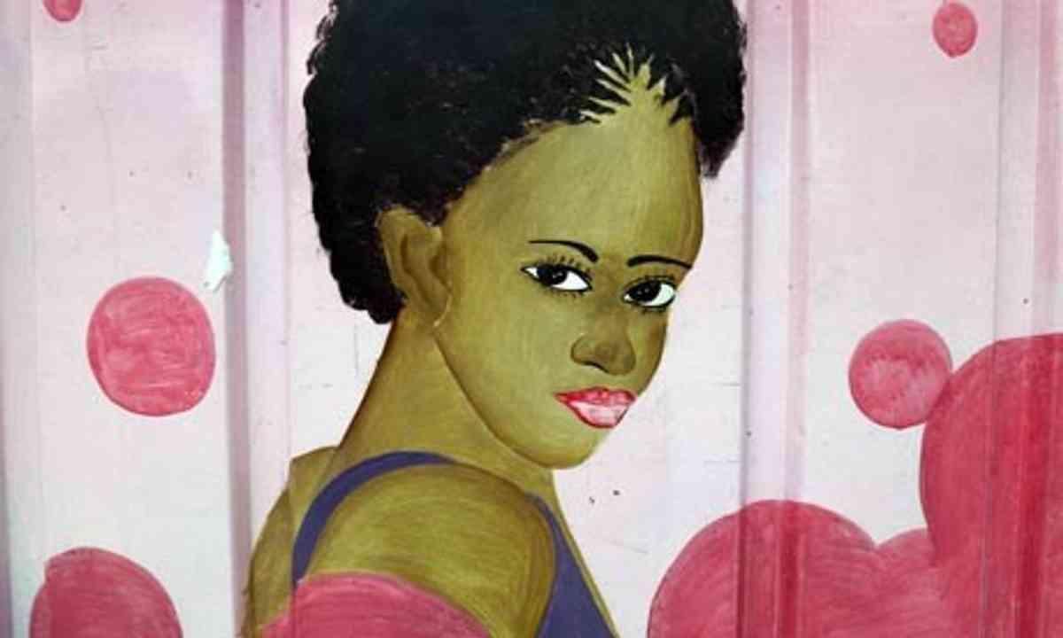 Kenyan Hairdresser (Peter Moore)
