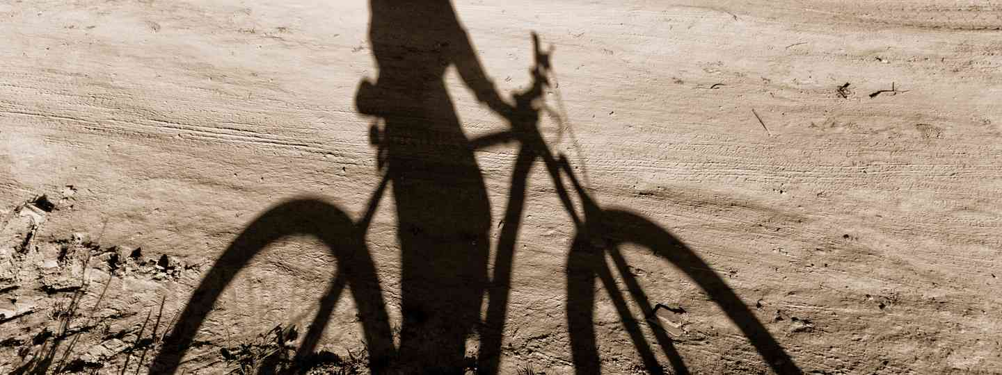 Silhouette of cyclist (Shutterstock: see main credit below)