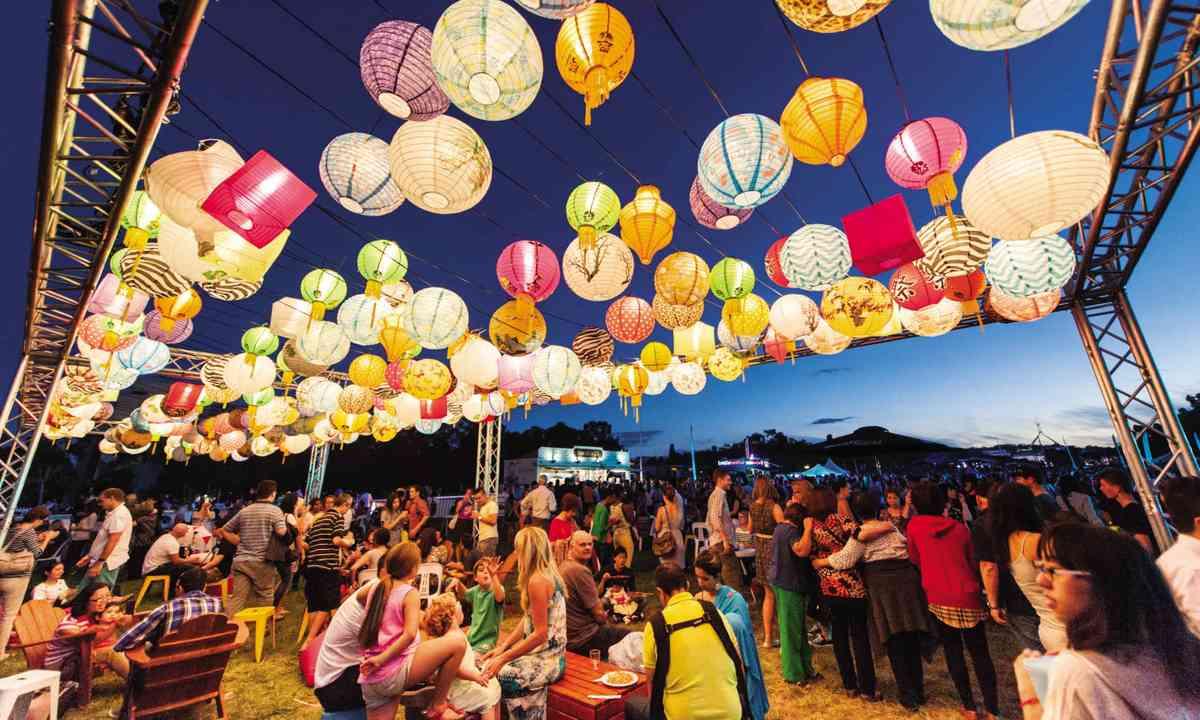 Enlighten Festival (Visit Canberra)