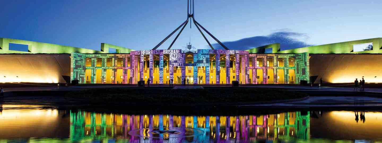 Australian Parliament House (VisitCanberra)