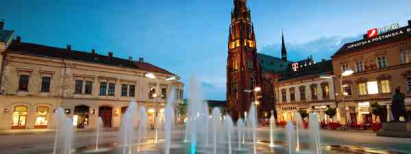Osijek, Croatia (Shutterstock: see credit below)