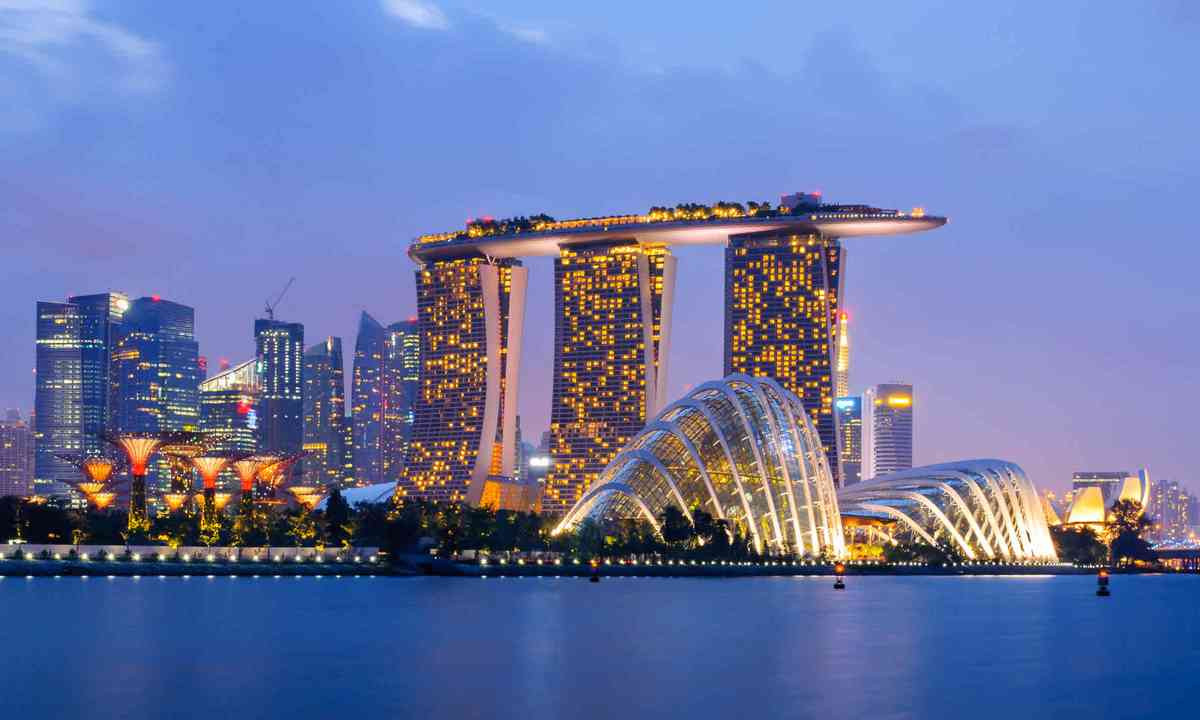 Singapore city skyline (Dreamstime)