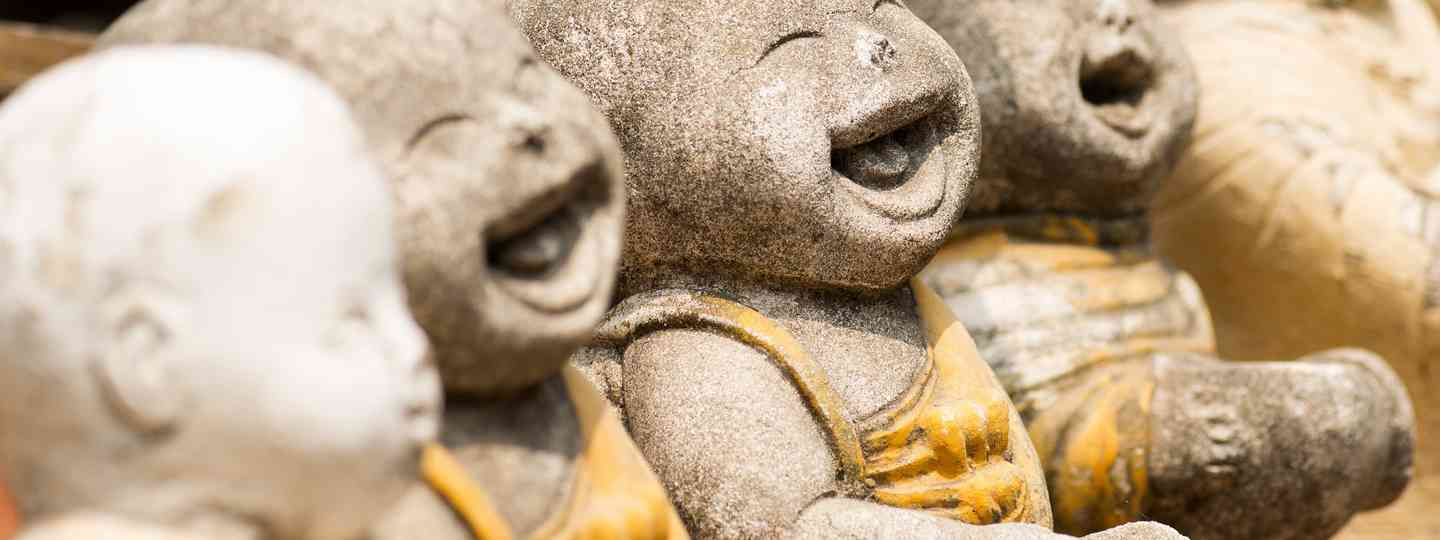 Child monk statues, South East Asia (Shutterstock: see main credit below)
