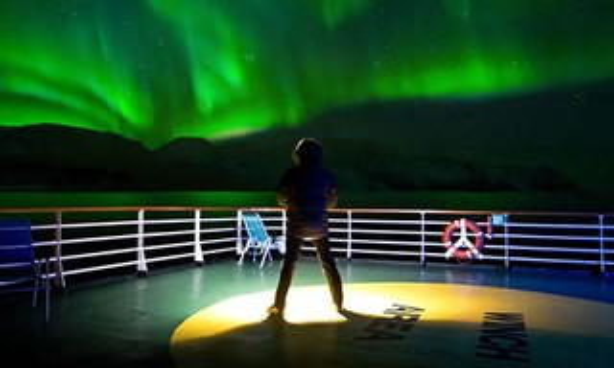 Cruise ship Northern Lights (Hurtigen)