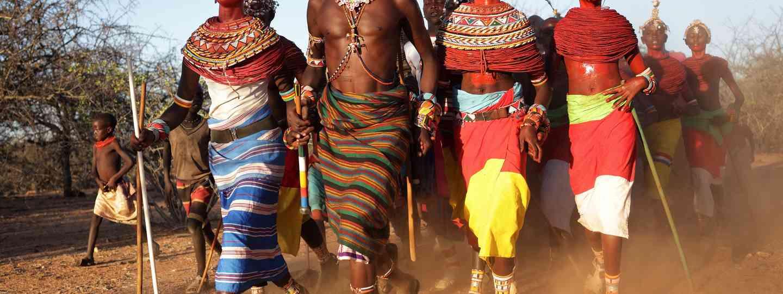 Samburu Warriors (Shutterstock: see credit below)