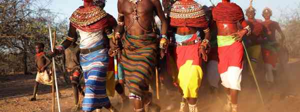 Samburu Warriors (Shutterstock: see credit below)