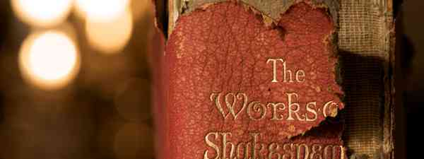 The Works of Shakespeare (Shutterstock)